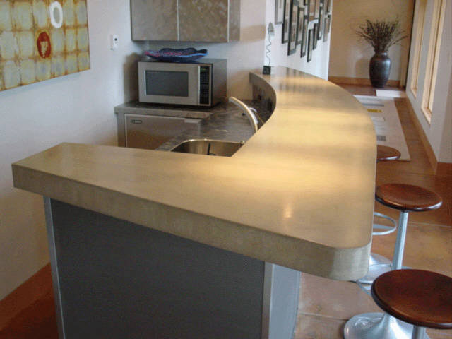Concrete Bar With Radius And 4 Drop Edge AltConcrete Width349 Height262